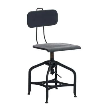 Chaise en métal et bois pour cuisine, salle à manger ou bureau style i[1/1]