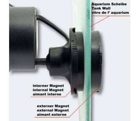Dual-Pompe de Brassage Wavemaker avec Aimant 6000 l/h 12W[5/5]