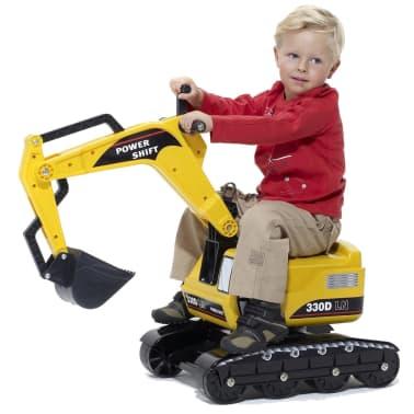 Excavadora juguete para niños amarilla FALK, 2/5 años[5/5]