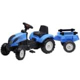Tractor con remolque FALK Landini, 2/5 años, Azul