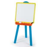 Smoby Lavagna a Cavalletto per Bambini Blu Plastica 028076