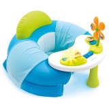 Smoby Cotoons hyggeligt sæde med aktivitetsbord blå 110210