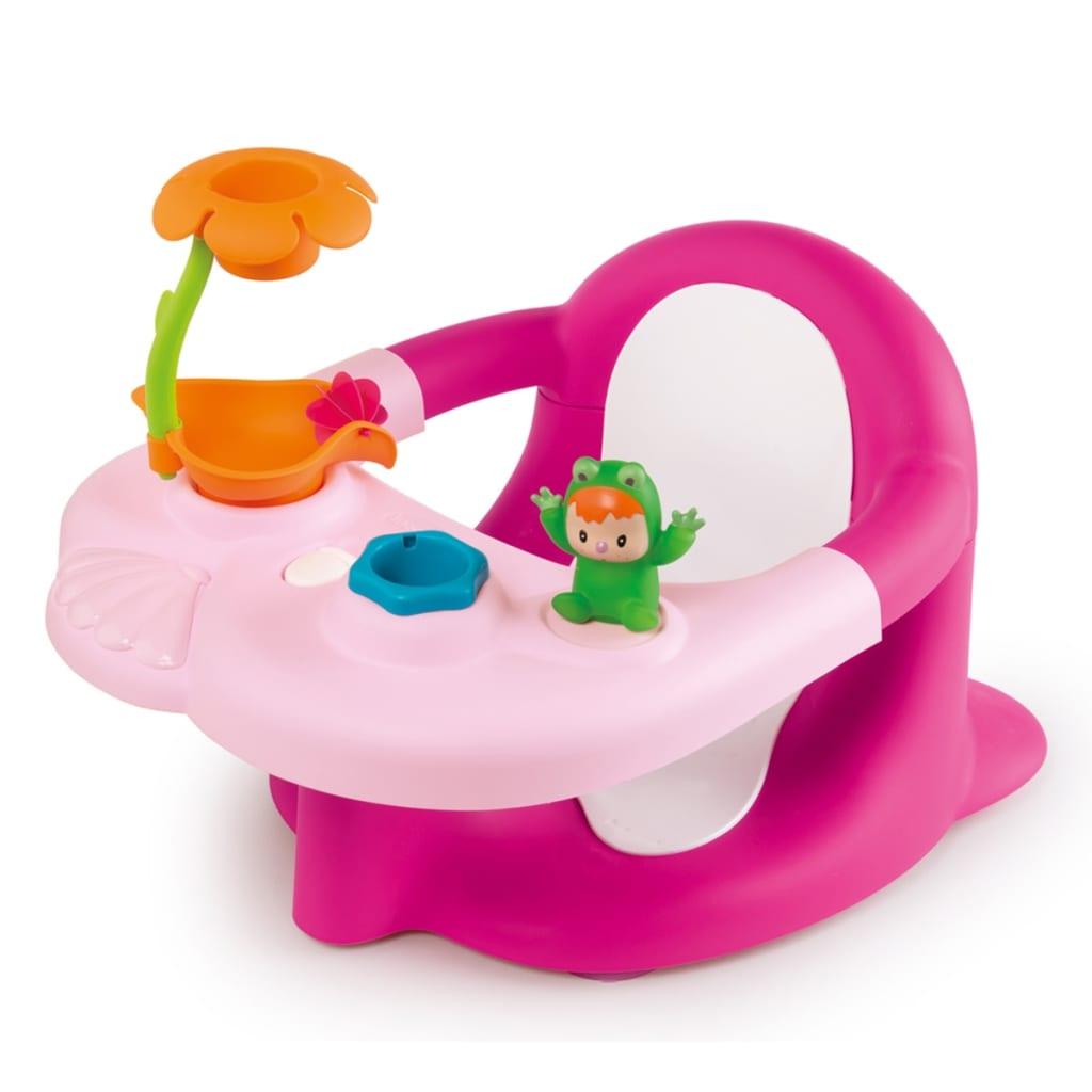 Afbeelding van Smoby Cotoons Baby badzitje 2-in-1 roze 110605
