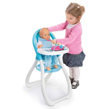 smoby chaise haute pour poup e frozen de disney 33 x 46 x 65 cm 240204. Black Bedroom Furniture Sets. Home Design Ideas