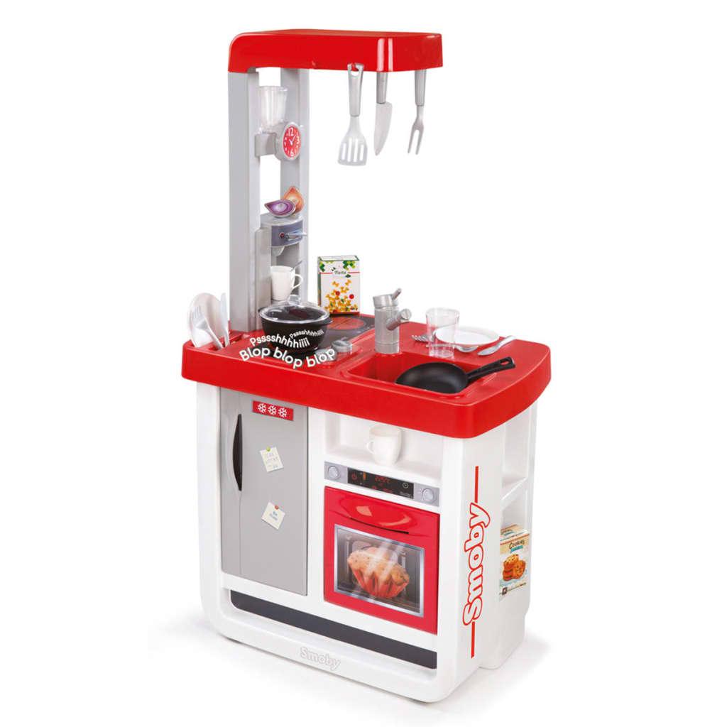 Smoby Bon Appetit Kjøkken 52x34x97 cm rød 310800