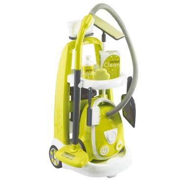 acheter smoby chariot de m nage avec aspirateur 31 x 31 x 55 cm 330301 pas cher. Black Bedroom Furniture Sets. Home Design Ideas