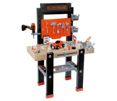 Smoby Zabawkowy stół warsztatowy Bricolo BLACK+DECKER, 79x39x103 cm[1/9]