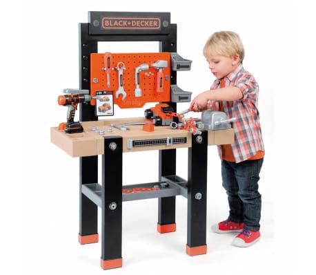 Smoby Zabawkowy stół warsztatowy Bricolo BLACK+DECKER, 79x39x103 cm[2/9]