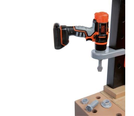 Smoby Zabawkowy stół warsztatowy Bricolo BLACK+DECKER, 79x39x103 cm[6/9]