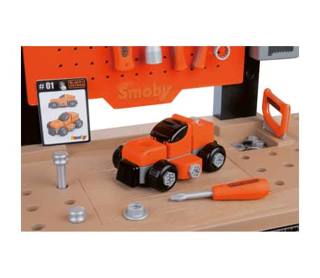 Smoby Zabawkowy stół warsztatowy Bricolo BLACK+DECKER, 79x39x103 cm[7/9]