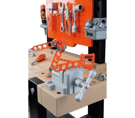 Smoby Zabawkowy stół warsztatowy Bricolo BLACK+DECKER, 79x39x103 cm[8/9]