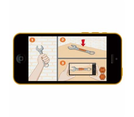 Smoby Zabawkowy stół warsztatowy Bricolo BLACK+DECKER, 79x39x103 cm[9/9]