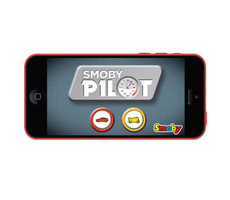 acheter smoby simulateur de conduite pilot v8 rouge et noir 370206 pas cher. Black Bedroom Furniture Sets. Home Design Ideas