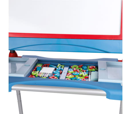 smoby kid 39 s verstellbare doppel staffelei blau 410202 zum schn ppchenpreis. Black Bedroom Furniture Sets. Home Design Ideas