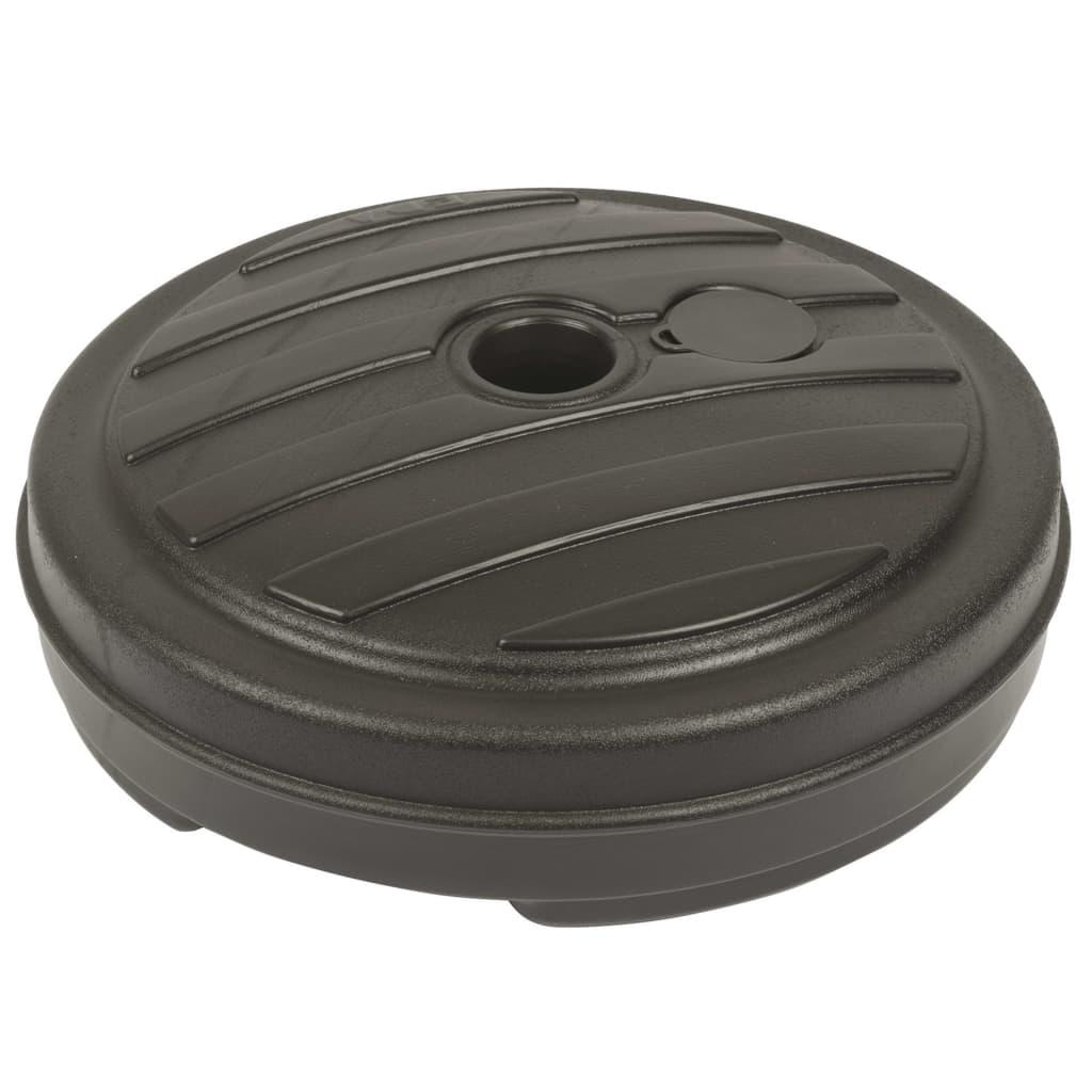 EDA Parasolvoet kunststof antraciet