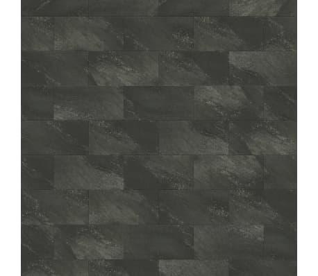 Grosfillex Wandfliesen Gx Wall+ 11 Stk. Stein 30x60 cm Dunkelgrau