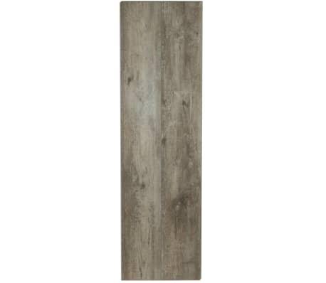 Grosfillex 10 st Wandtegels Gx Wall+ steigerhout 17x120 cm