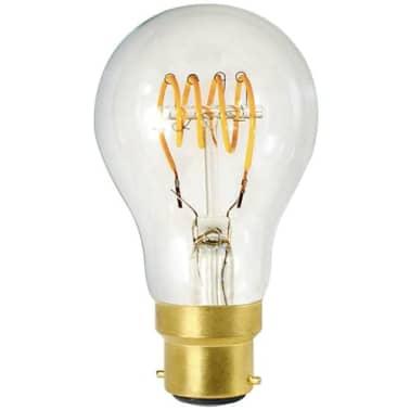 Standard A60 filament LED 4 loops 4W B22 2200K 220Lm dim Cl.[1/1]