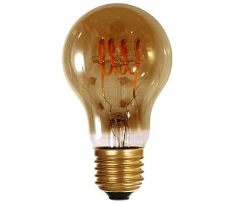 Standard A60 filament LED 4 loops 5W E27 2000K 200Lm Smoky[1/1]