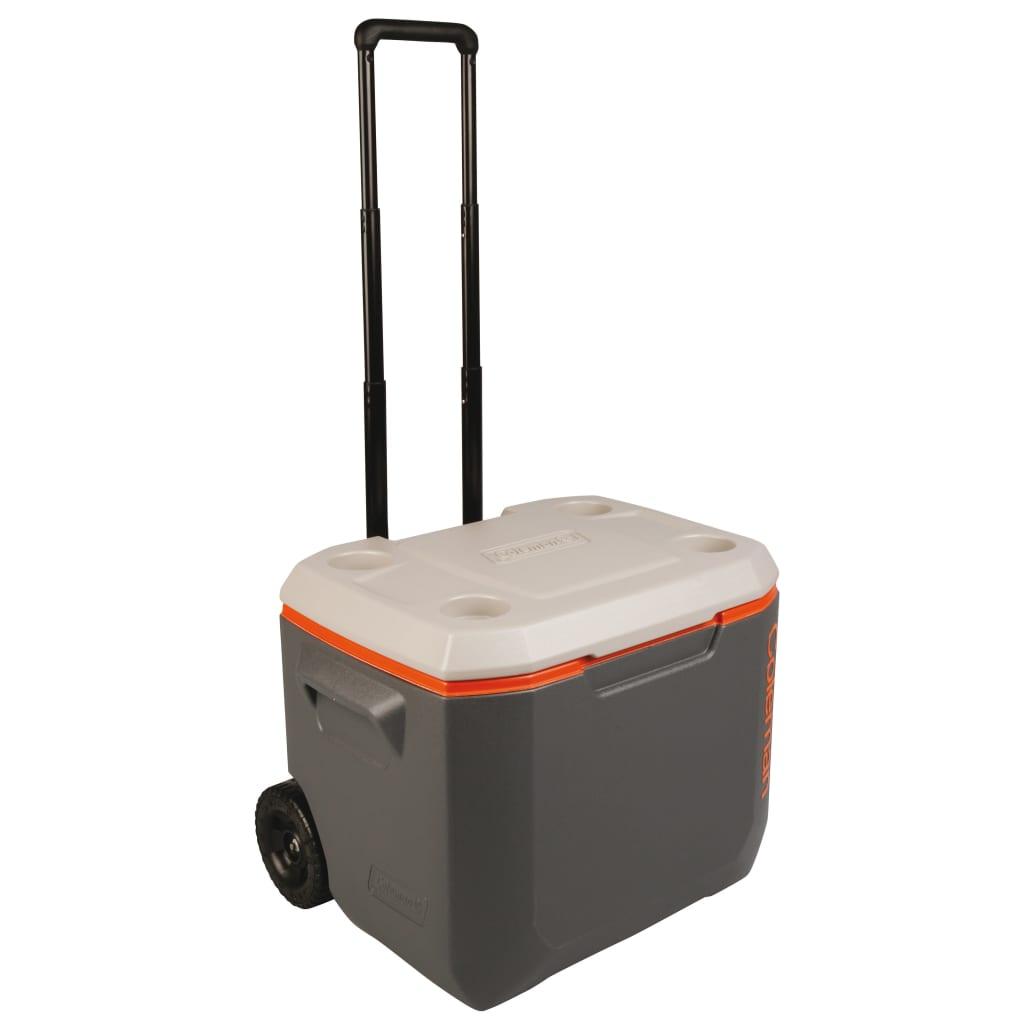 Coleman Cutie răcire 50 QT Wheeled Xtreme Cooler, gri, 47 L, 8912598 poza 2021 Coleman