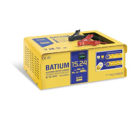 GYS Chargeur de batterie BATIUM 15-24 35-225 Ah 450 W 7/10/15 A[1/2]