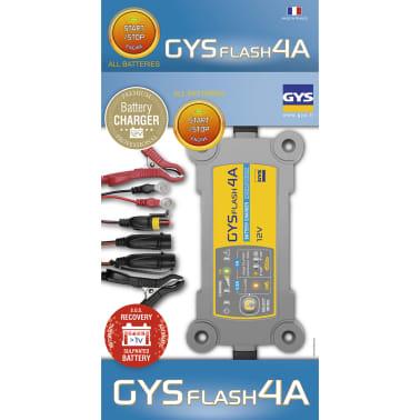 acheter gys chargeur de batterie gysflash 4a 70 130 ah 90 w pas cher. Black Bedroom Furniture Sets. Home Design Ideas
