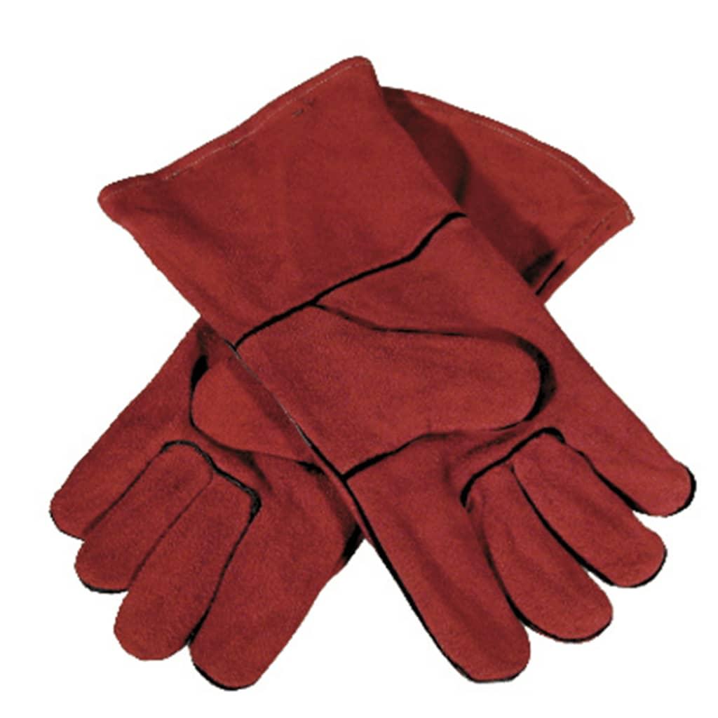 Afbeelding van GYS Handschoenen multifunctioneel rood leer