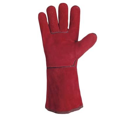 GYS Gants multifonctionnels Cuir Rouge[2/2]