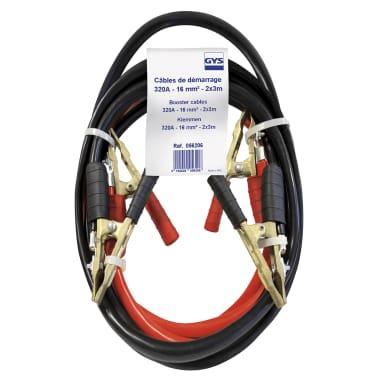 GYS Cables de arranque 2 unidades 320 A 3 m 16 mm²[2/2]