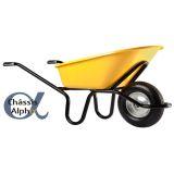 HAEMMERLIN - Brouette Bati Plus 110 Reno Alpha peinte roue gonflée