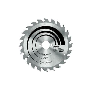Bosch Lame de scie 190 x 30mm 24 D Optiline BOSCH[1/1]