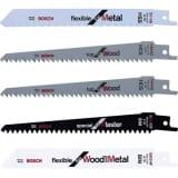 Set de 5 lames bois/plastique/métal pour élagueur Keo Bosch F016800307