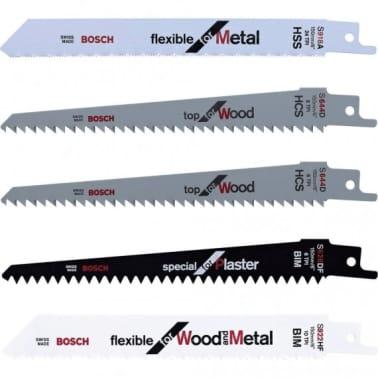 Set de 5 lames bois/plastique/métal pour élagueur Keo Bosch F016800307[1/1]