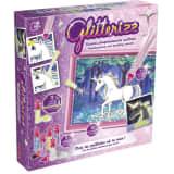 Lansay - Glitterizz Licornes Phosphorescentes Pailletées