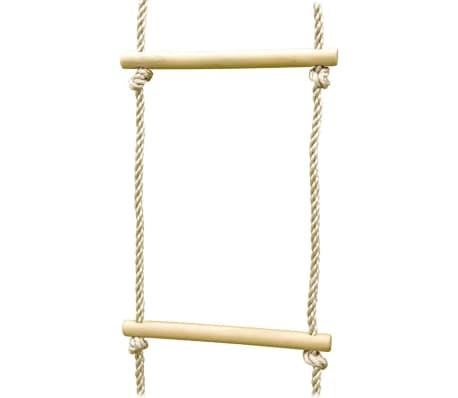 TRIGANO Escalera de cuerda para columpios 1,9-2,5 m J-423