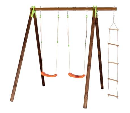 TRIGANO Escalera de cuerda para columpios 3-3,5 m J-424[2/2]