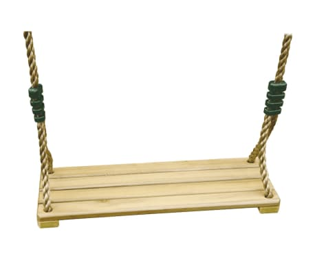 TRIGANO Asiento de columpio de madera para columpios 1,9-2,5 m J-478