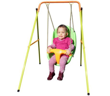 TRIGANO Columpio de bebé Emma Funny 94x145x120 cm acero J-10153P9[2/5]
