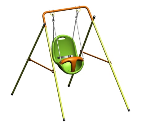TRIGANO Columpio de bebé Emma Funny 94x145x120 cm acero J-10153P9[3/5]