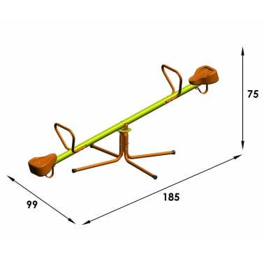 TRIGANO Balancín sube y baja COUCOU de acero 185x99x75 cm J-41420P8[4/4]