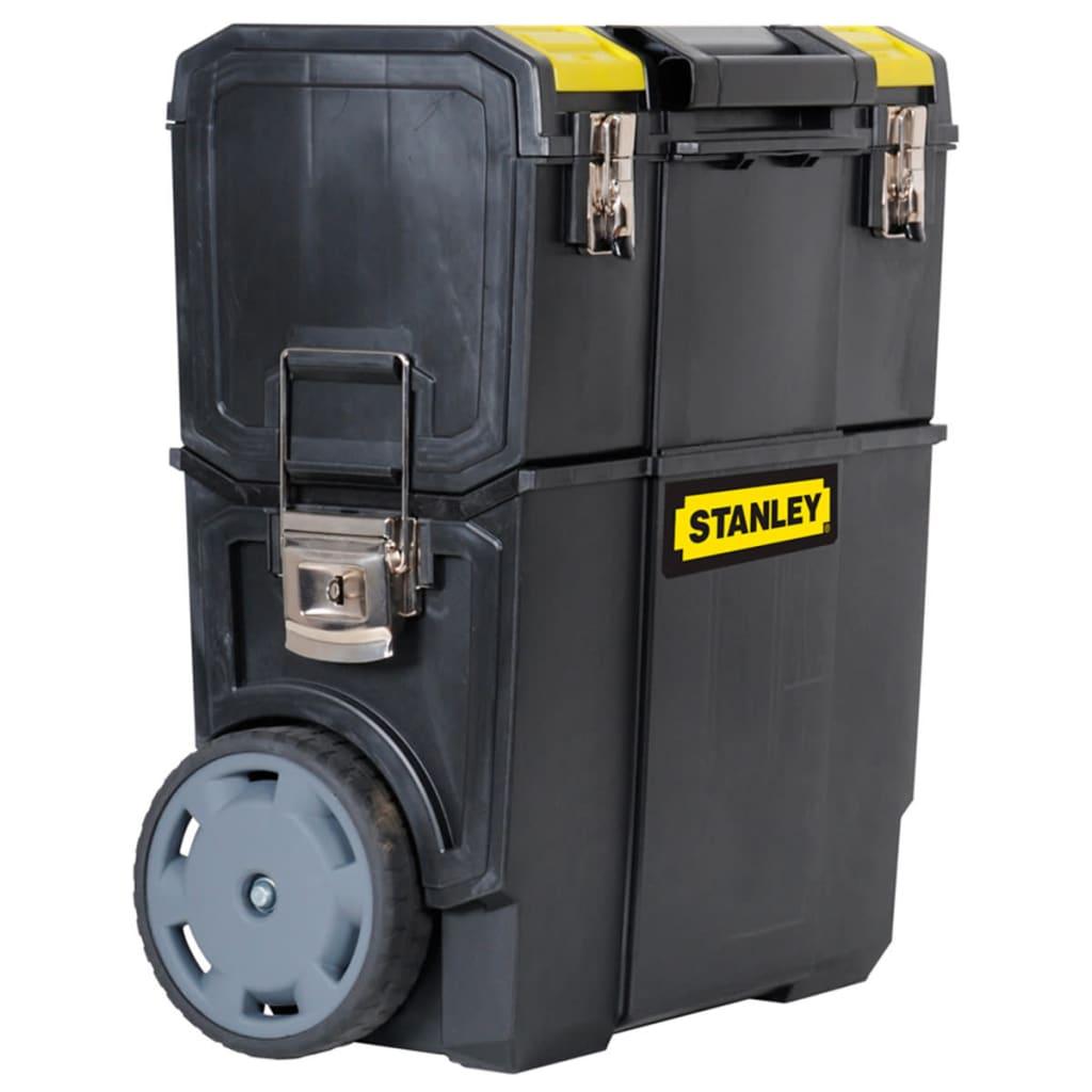 Stanley Mobilt arbeidssenter plast svart 1-70-326