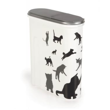 Curver Tierfutterbehälter 4,5 L Weiß 412010[1/2]