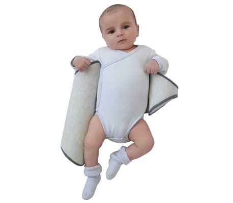 Candide Ergonomiška šoninės pozicijos pagalvė kūdikiui Air+, pilka[3/8]