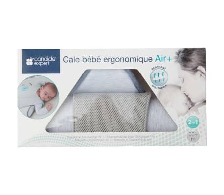 Candide Ergonomiška šoninės pozicijos pagalvė kūdikiui Air+, pilka[8/8]