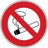 Disque rigide ø 18 cm défense de fumer