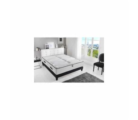 CONFORT DESIGN Matelas 140x190 - Mousse Haute Resilience Bi-confort -
