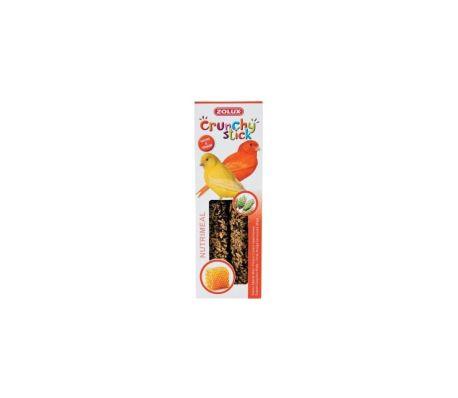 Friandises oiseaux ls stick crunchy pour canaris au miel p/2[1/1]