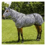 EQUITHÈME Fly Mask Sweet Itch Zebra Shetland/XS 400117200