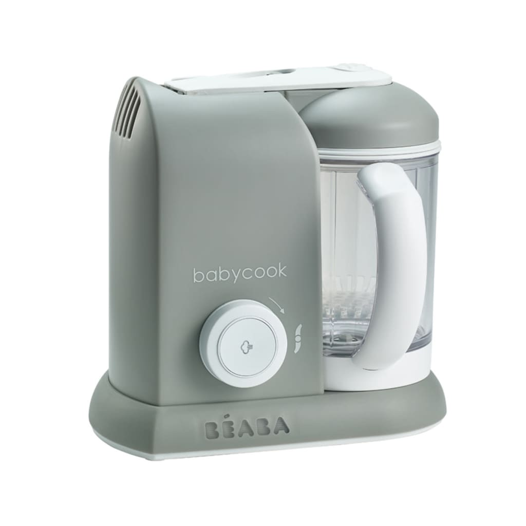 Afbeelding van Beaba 4-in-1 Babyvoeding keukenmachine Babycook grijs 1.100 ml 912461