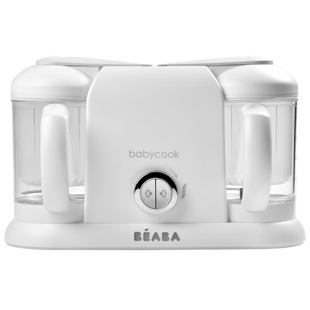Beaba Robot de cuisine 4-en-1 Babycook Duo 2200 ml Blanc